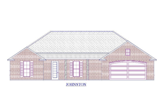 Johnston Floor Plan - Abshire Building Group