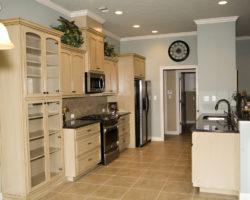 Gourmet kitchen in site built homes Lumberton, TX
