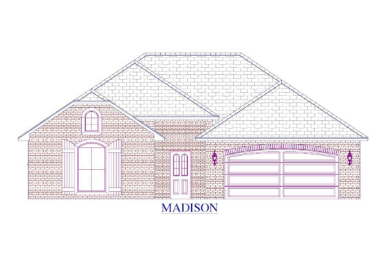 Madison Floor Plan - Abshire Building Group