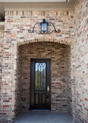 The Patsy Entryway Light Tall Exterior custom door