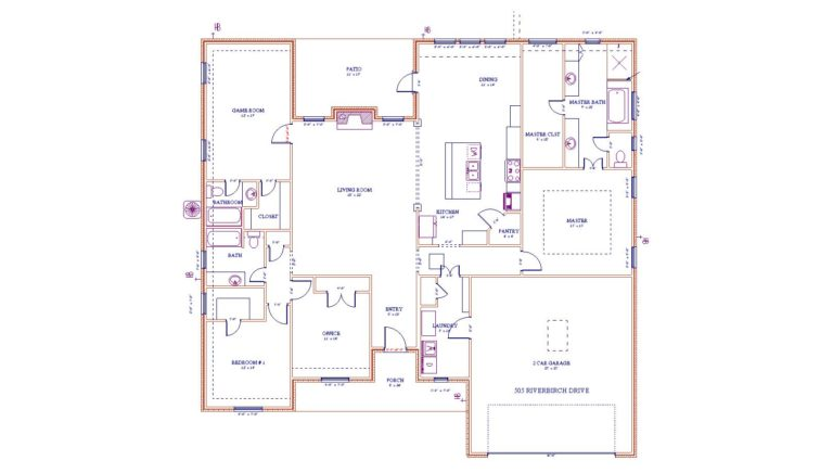 Duncan Line Elevation quality built home