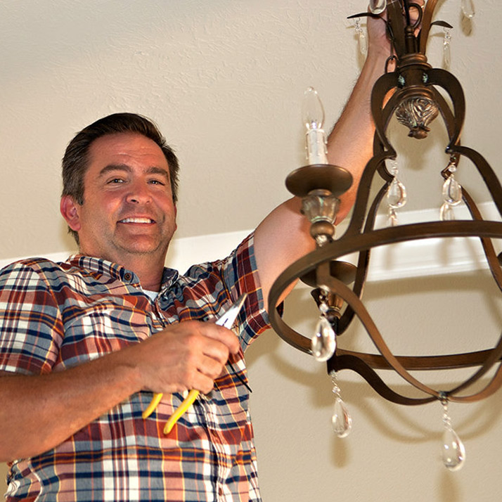 Marc Colburn Electrician Wiring Hanging Lights