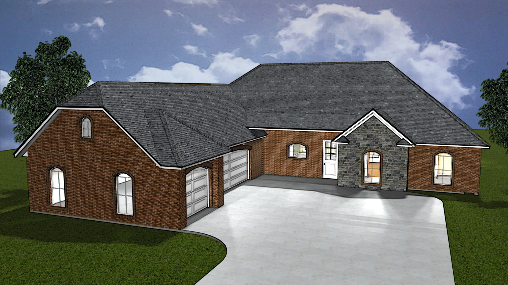 Keile Custom Home Elevation