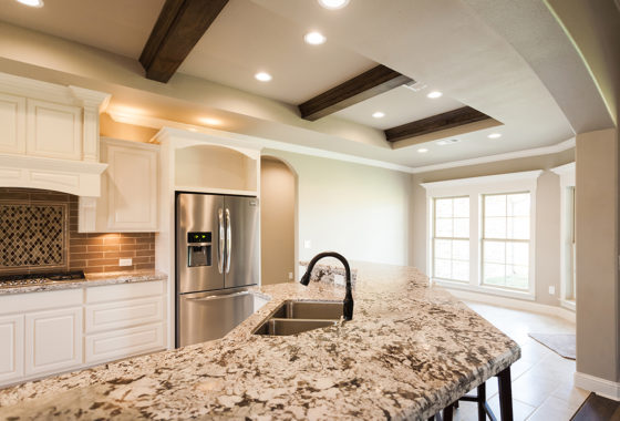 Fournier Custom Built Home Kitchen
