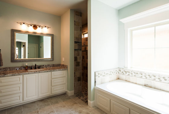 Fournier Custom Built Home Bathroom