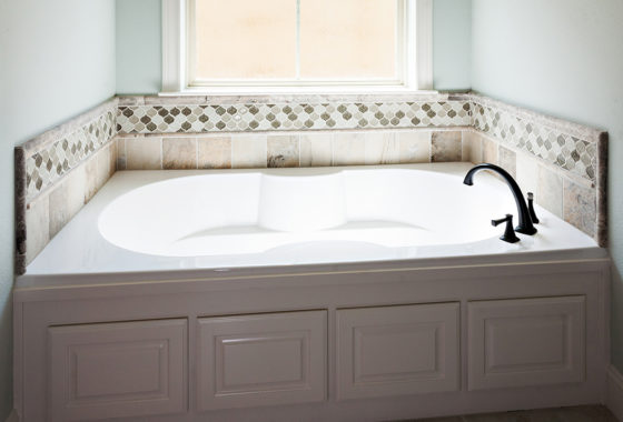 Fournier Custom Built Home Bath Tub