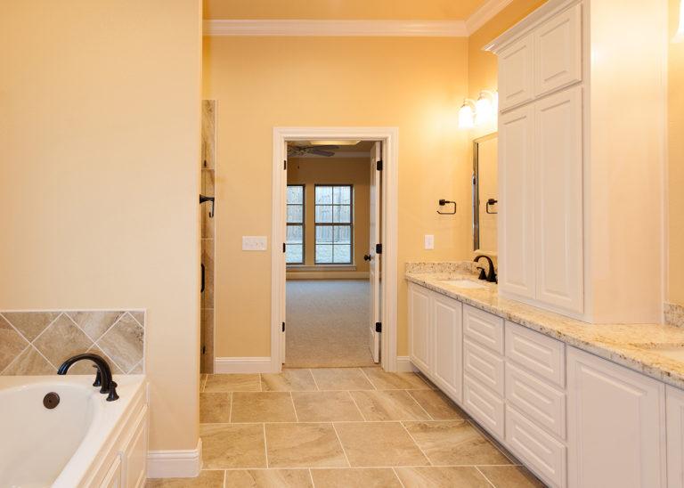 Custom Home Master Bath