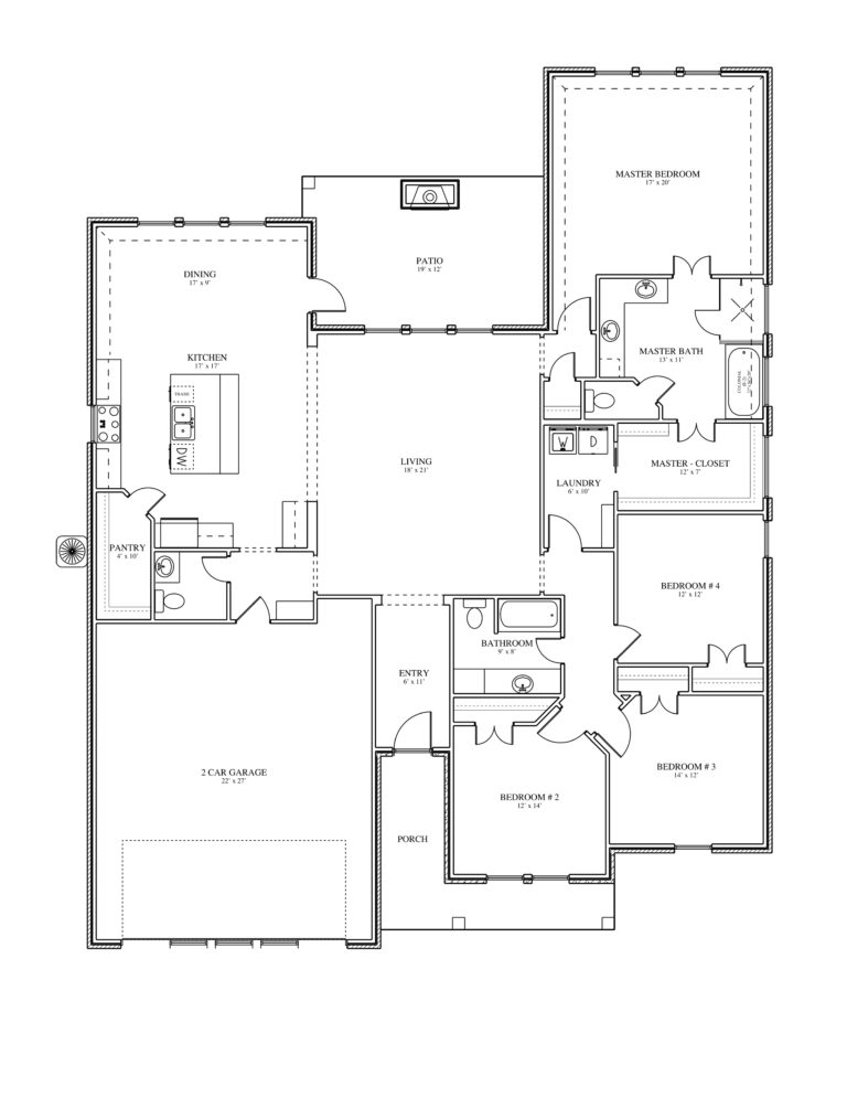 213 Spring Brook Court Alexi Floor Plan