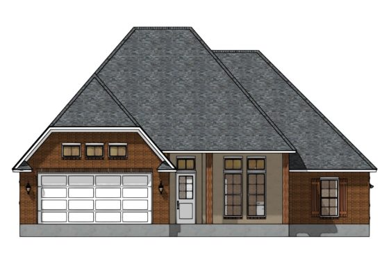 Alexi Elevation Floor Plan