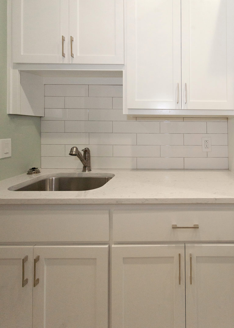 Reidy Modern Style Home Laundry Room Sink