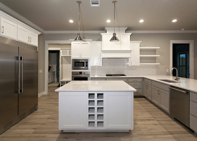 Reidy Modern Style Home Full view of kitchen