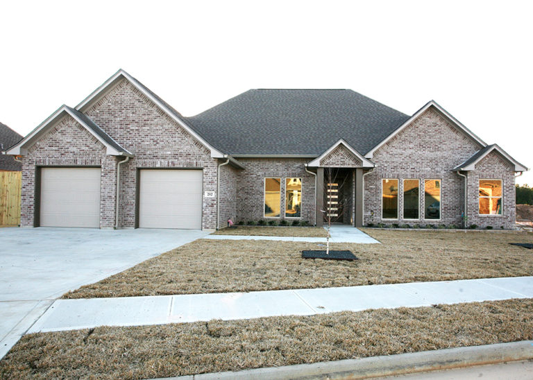 Lucy Modern Style Home Front Elevation Picture