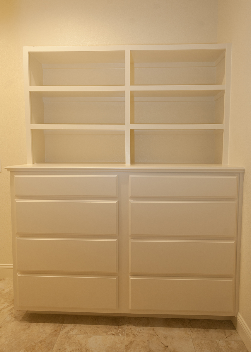 The Cora Master Closet Cabinets