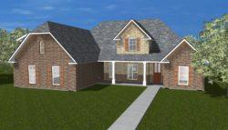 Elevation house plan custom home builder