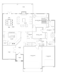 The Patsy First Floor Blueprint Plan