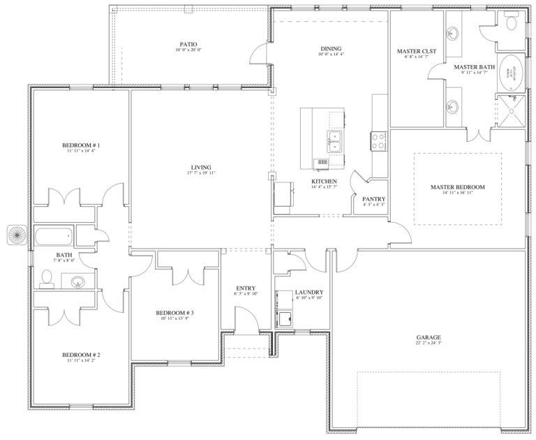 Christensen Floor Plan