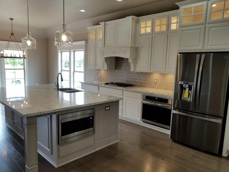 200 Hidden Grove Court new construction modern style kitchen
