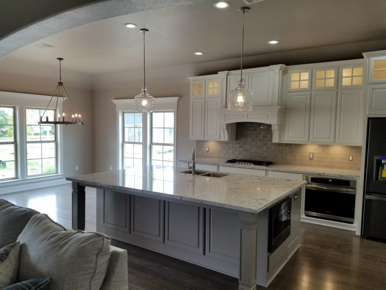 200 Hidden Grove Court new construction modern kitchen with island