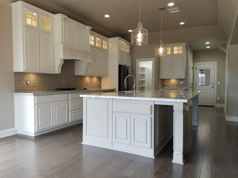 200 Hidden Grove Court modern kitchen with island