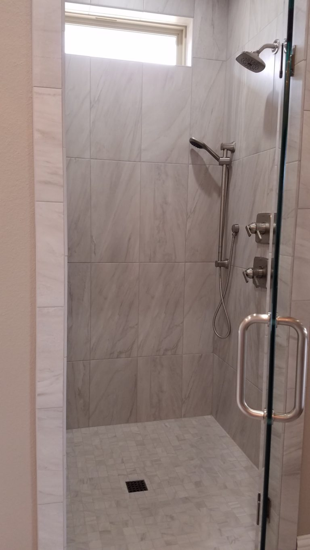 200 Hidden Grove Court master full tile shower