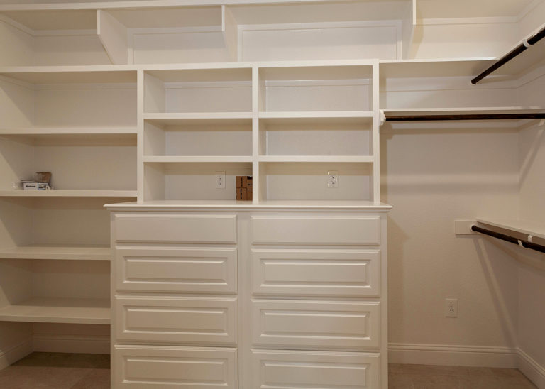 195 Hidden Grove Court Master closet with built in storage and shelving